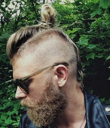 perfect top knot men 20 mohawk hairstyles for men