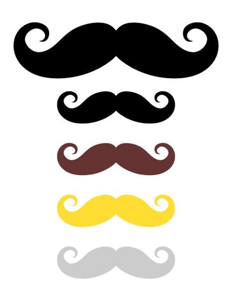 15 printable mustache templates and photo booth props 78 best ideas about mustache photo booths on pinterest