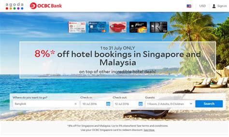 agoda ocbc agoda 8 off hotels in singapore malaysia for ocbc