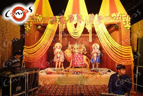 The Home Decorators canvas decoration services mata ki chowki jagrata jagran