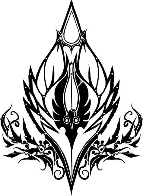 icon of blood blood elf crest world of warcraft