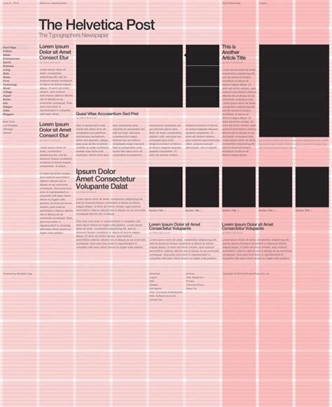designing grid layouts for the web design graphic grid based web design a beginner s guide creative bloq