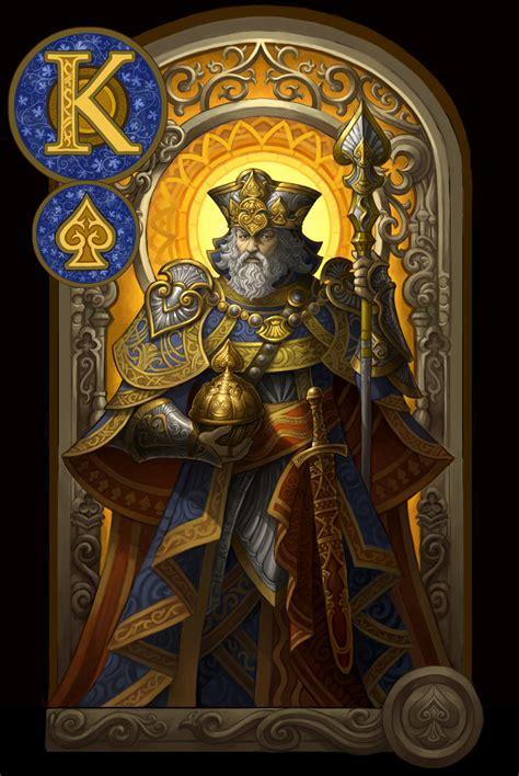 king of spades by goldendaniel on deviantart