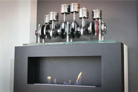 decoracion taller mecanico arte mec 225 nico muebles con piezas de motores motorbit