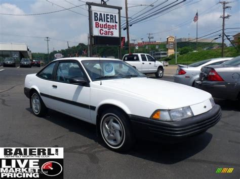 1994 chevrolet cavalier coupe 1994 bright white chevrolet cavalier coupe 49798922