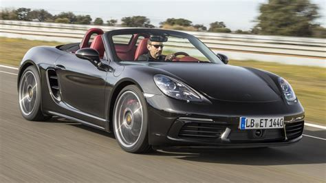 top gear porsche boxster in the new four cylinder turbo porsche 718 boxster