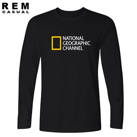 Tshirt National Geographic national geographic channel t shirt streetwear cotton and comfortable jersey