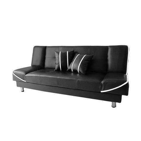 Sofa Hitam Putih jual anya living saigon sofa bed hitam garis putih