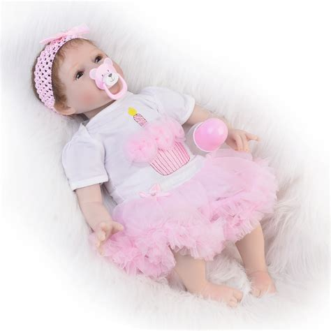 Sale Baby Doll Dewasa 1 aliexpress buy sale 22 inch 55cm silicone soft reborn baby doll handmade baby newborn