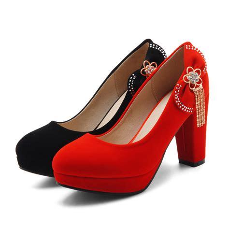 high heels big size plus big size block high heels platform pumps