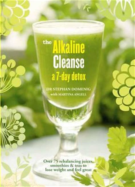 Alkslize And Detox by Alkaline Cleanse Dr Stephan Domenig 9781906761639