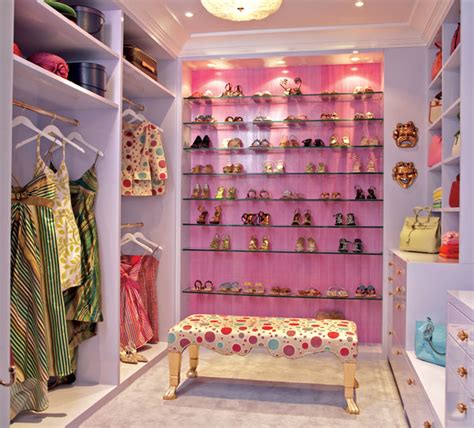 Girly Closet stuning walk in closets design