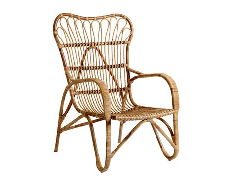 danish bamboo and wicker lounge chairs by laurids lonborg bloomingville rattan chair