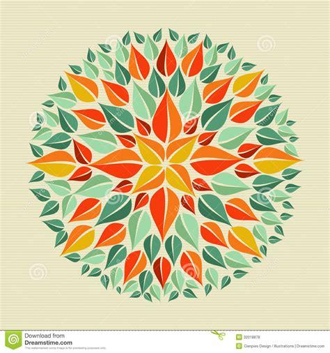 leaves yoga mandala stock vector image of decor mystery