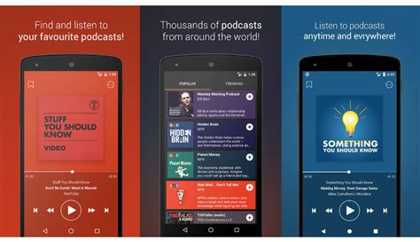 best podcast app for android 5 best podcast apps for android users 171 www 3nions