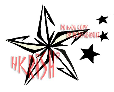tribal nautical star tattoo designs the gallery for gt nautical with tribal