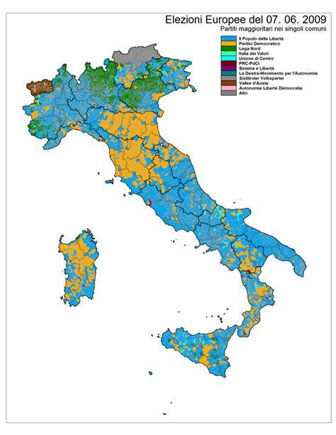 in italia elezioni europee 2009 italia