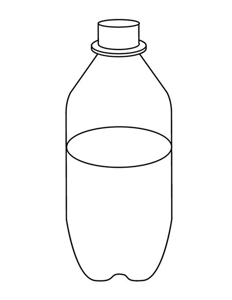 hot water bottle coloring pages