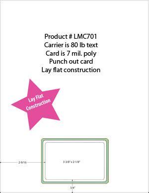 blank membership card template lmc701 7 mil poly blank membership cards laser member