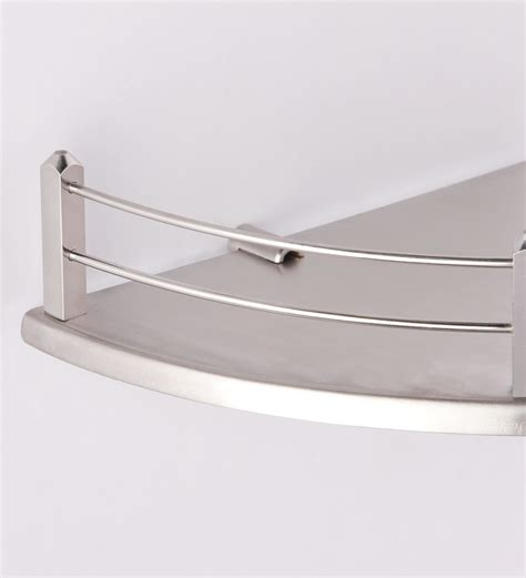 bathroom steel shelves buy regis stella silver stainless steel bathroom shelf