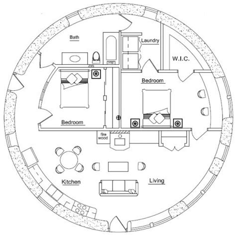 hobbit hole floor plan earthbag house plans floor plans pinterest hobbit