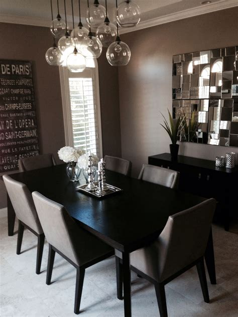 modern dinning room table  chairs west elm chandelier