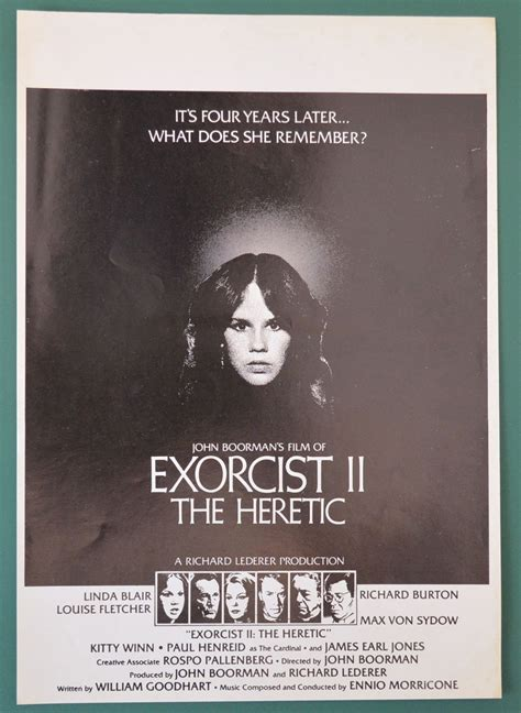film exorcist sinopsis exorcist ii the heretic original 8 page cinema