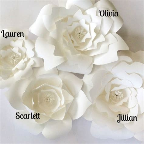diy flower template paper flower template quotes