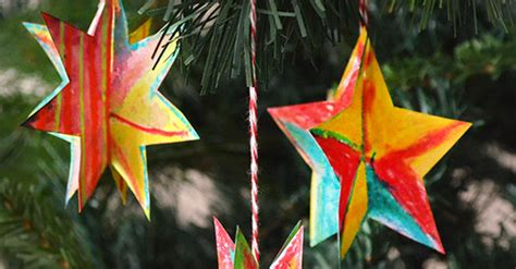 easy   christmas star decorations picklebums