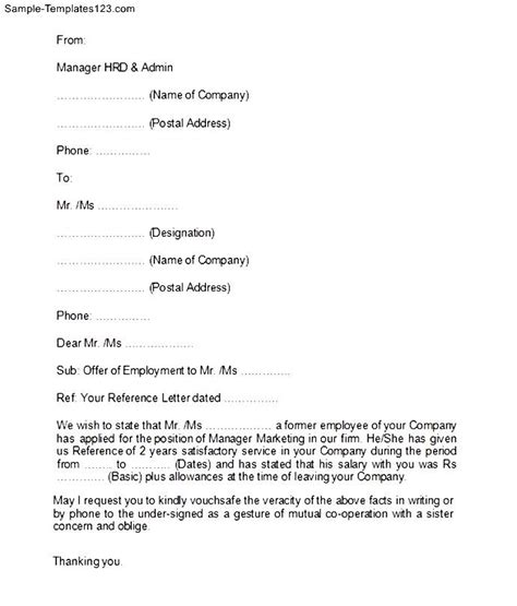Employment Letter Format For Passport Proof Of Income Verification Letter Sle In E Verification Letter Sle Forms And Templates