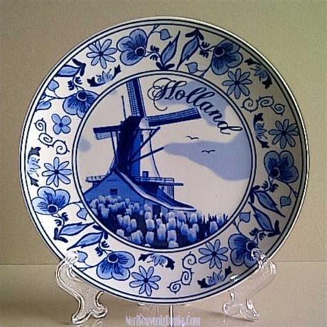 Pajangan Piring Porcelin Dari Belanda Untuk Souvenir Jual Souvenir Piring Pajangan Bunga