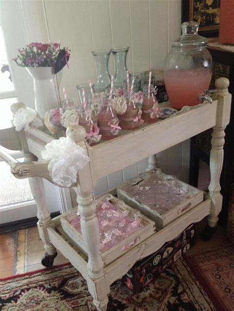 Vintage Baby Shower Decorations by Vintage Baby Shower Drinks Trolley Baby Shower Ideas
