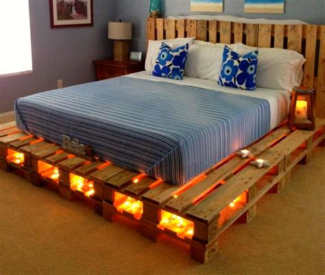 homemade bed frame ideas over 40 creative diy pallet bed ideas 2016 cheap