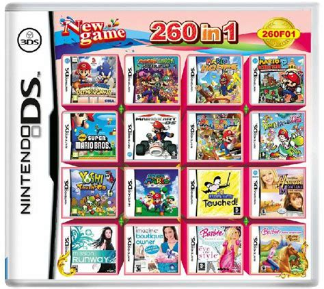 3ds console cheap 32gb 260 in 1 cheap multi card for nintendo 3ds ds
