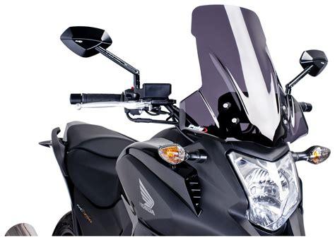 Windshield Motorcycle puig touring windscreen honda nc700x 2012 2015 revzilla