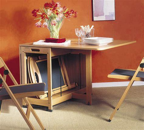 mesas plegables de comedor muebles de doble uso comedor camuflado mi casa