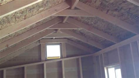 cottage storage shed  pressure treated fl