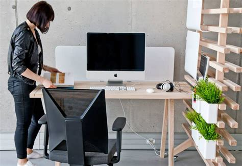 creative office desk a modular desk for creative people the worknest by