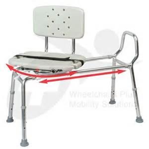 new eagle 37662 swivel seat sliding bath transfer bench