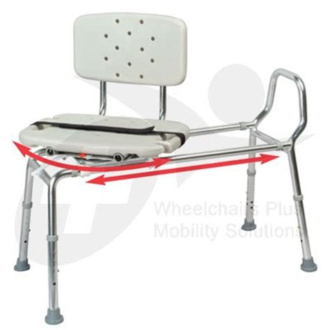 swivel seat sliding bath transfer bench 8 new eagle 37662 swivel seat sliding bath transfer