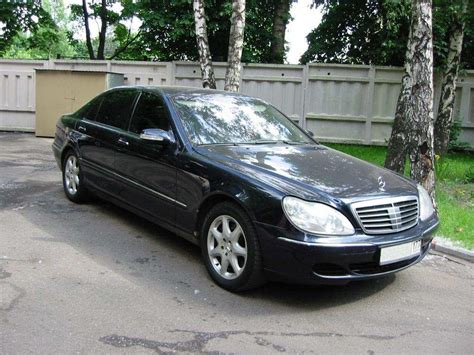 mercedes s class 2003 used 2003 mercedes s class photos 4300cc gasoline