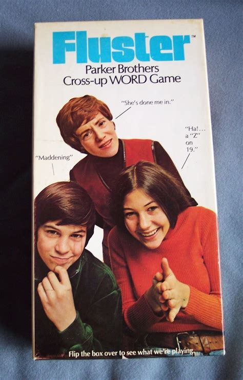 bona brothers hair show 1973 quot fluster quot parker bros game vintage other