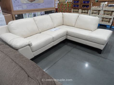 htl manhattan leather sectional sofas costco living room