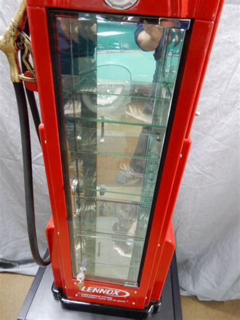 pump it up cabinet types lennox light up gas pump display cabinet pump 15 quot x 9 quot x