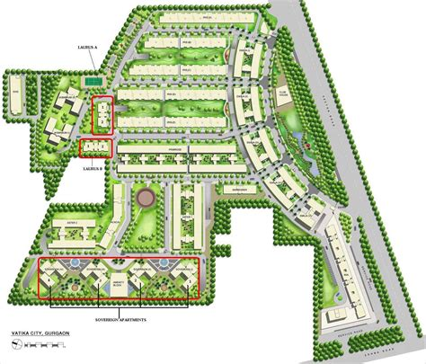 City Floor Plan by Vatika City In Sohna Road Gurgaon Buy Sale Apartment