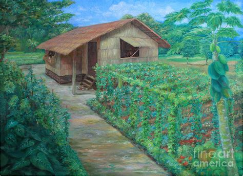 House Design Philippines Inside bahay kubo painting by jhun ciolo diamante