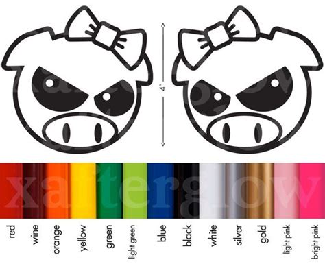 Jdm Sticker Angry Pig the world s catalog of ideas