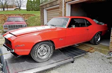 1969 z28 held in basement rare finds 1969 chevy camaro z 28 hot rod network