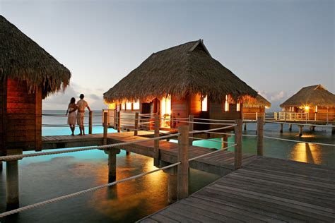 overwater bungalow the best over water villas for your next vacation