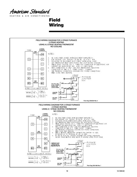 2 stage furnace thermostat wiring diagram 41 wiring